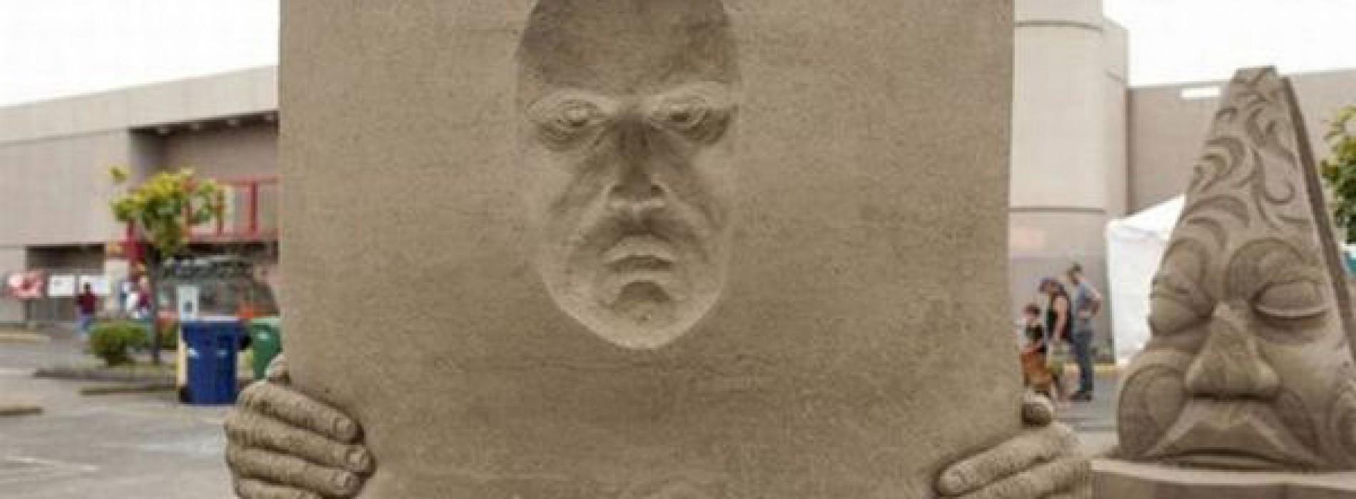 صور | 57 صورة من فن الرسم على الرمل