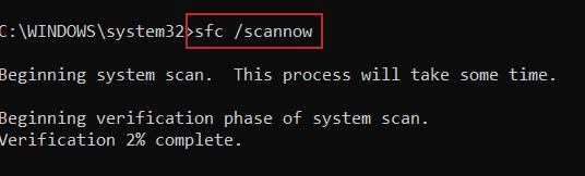 scannow امر cmd خطأ 0xc0000142 شرح حل مشكلة خطأ 0xc0000142 شرح حل مشكلة 0xc0000142 7