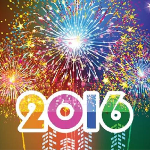 2016 تبدأ – صور وفيديو حول العالم