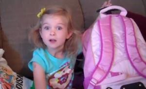"""YouTube   مفاجأه ديزني لاند في عيد ميلادها السادس """" ياملحها بعد :$ """""""