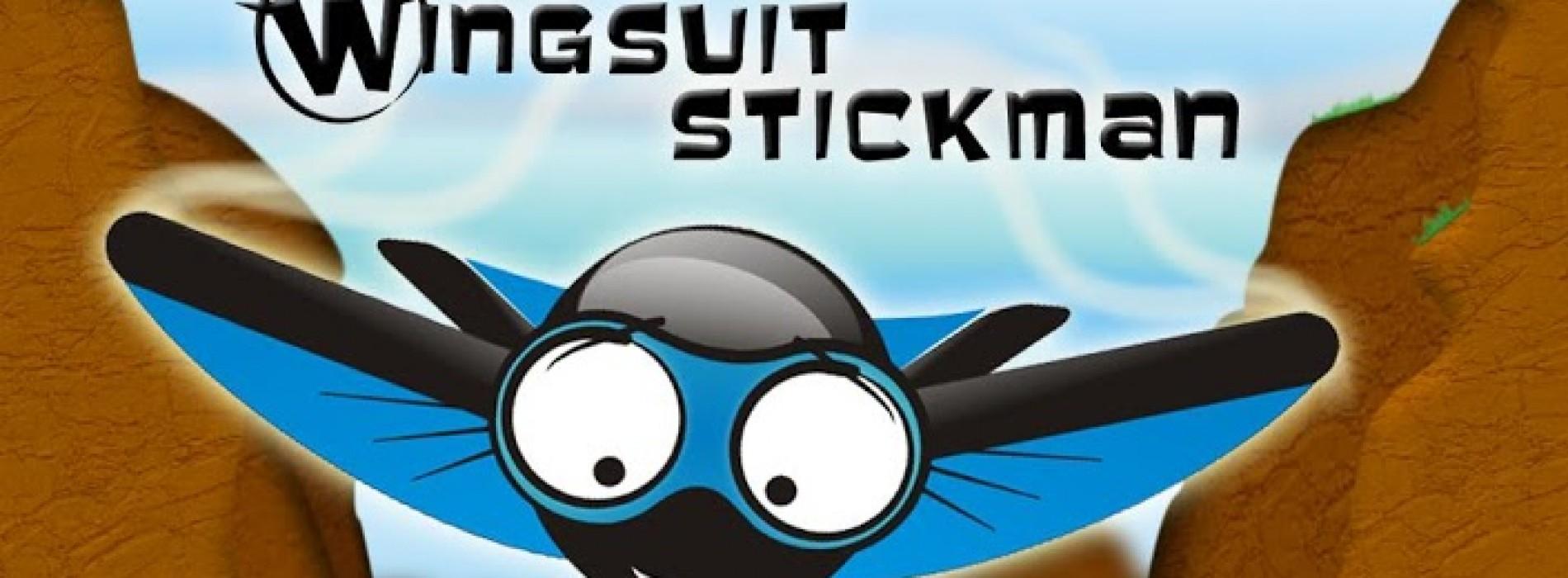 [ اندرويد ] لعبة  Wingsuit Stickman