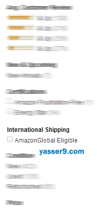 amazon international