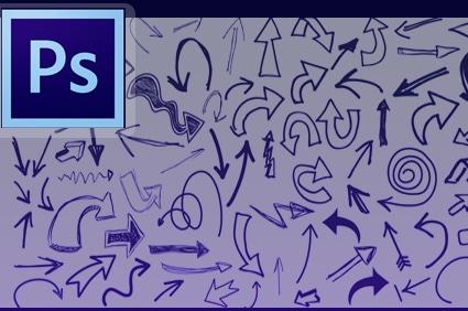 ملف PSD اسهم مرسومه باليد ملف PSD اسهم مرسومه باليد arrow3