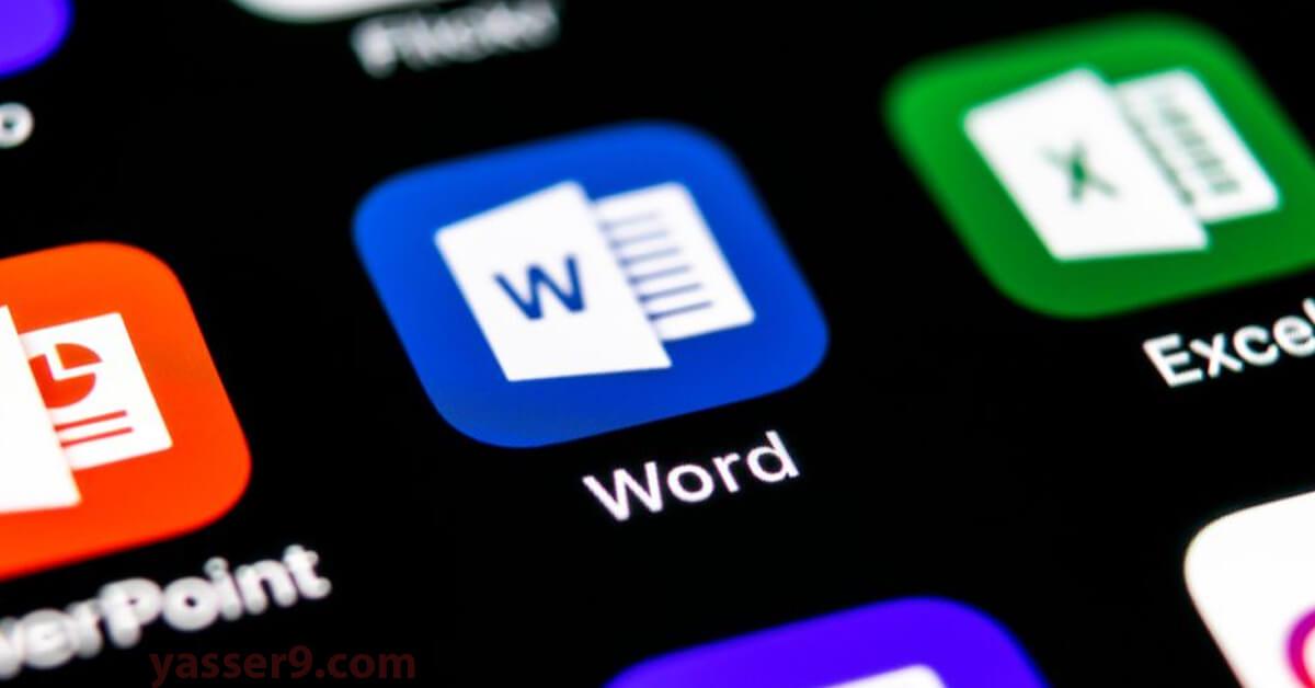 شرح تغيير اسم الكاتب في الوورد شرح تغيير اسم الكاتب في الوورد author name word