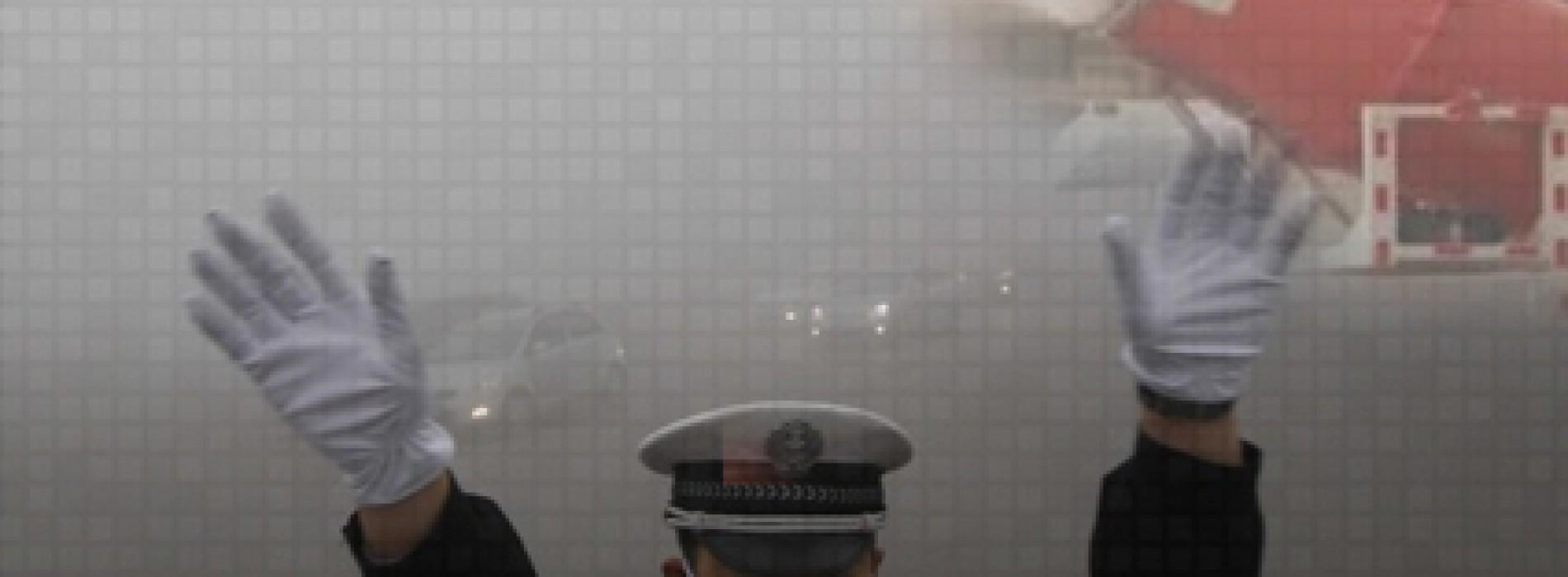 الصين تنشر مدافع مائية بالشوارع لتخفيف التلوث