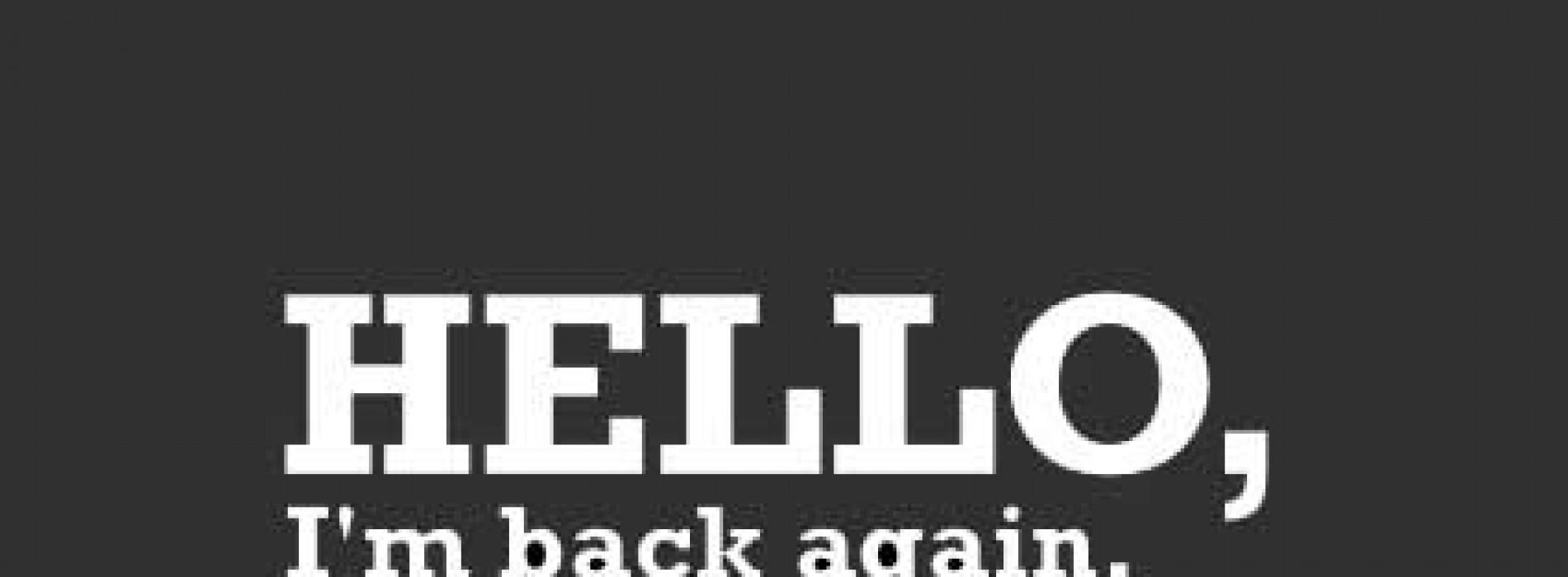 عودة من جديد