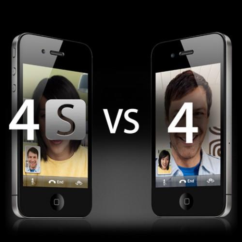 مقارنه | الفرق بين الايفون 4 والايفون 4 اس الجديد