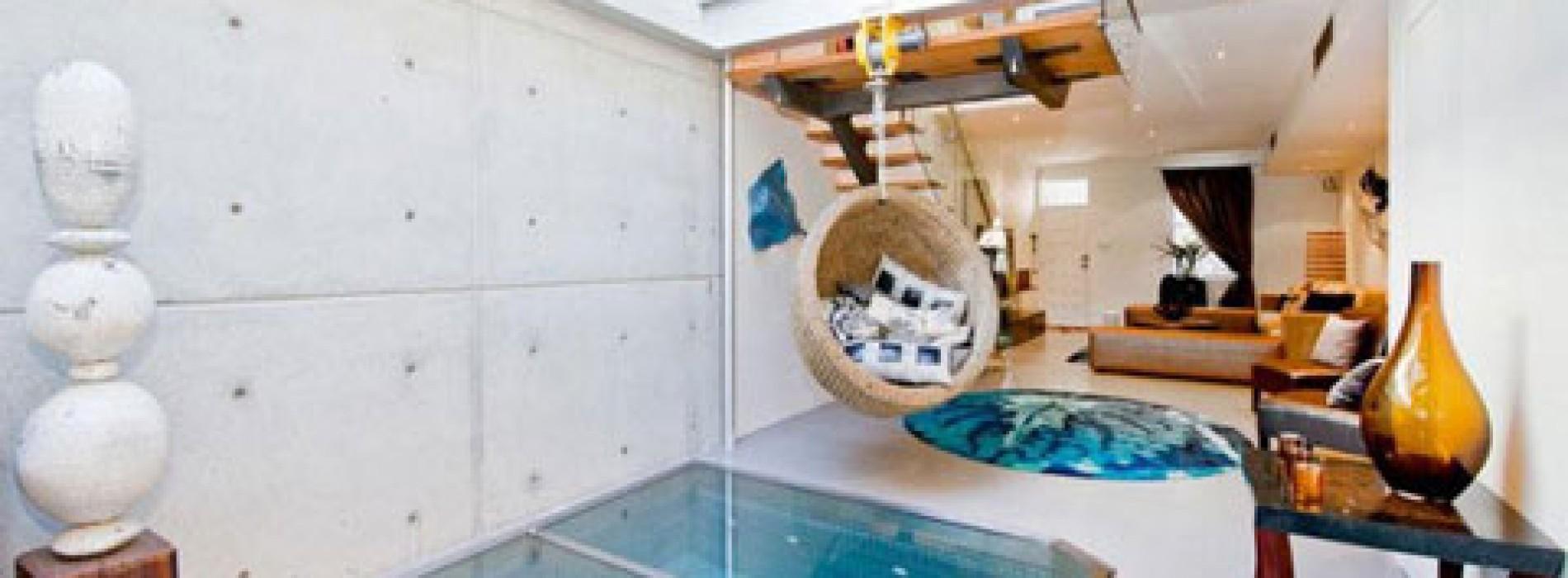 صور | مسبح بالصاله داخل شقه !