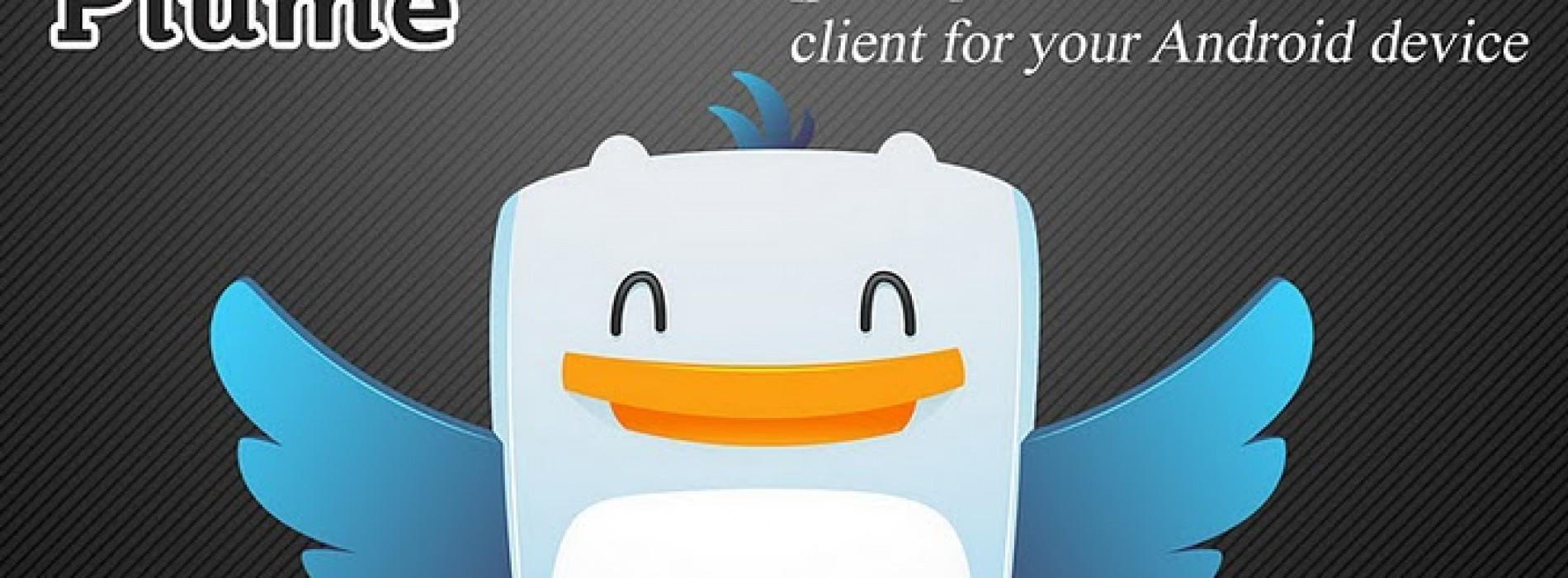 [ برنامج تويتر للاندرويد ] Plume Premium 4.12 ( بدون اعلانات )