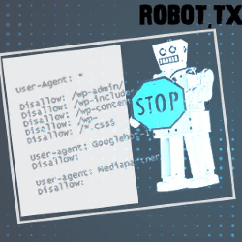 الغاء اضافه صفحة الى مواقع البحث او مجلد عن طريق ملف robot.txt