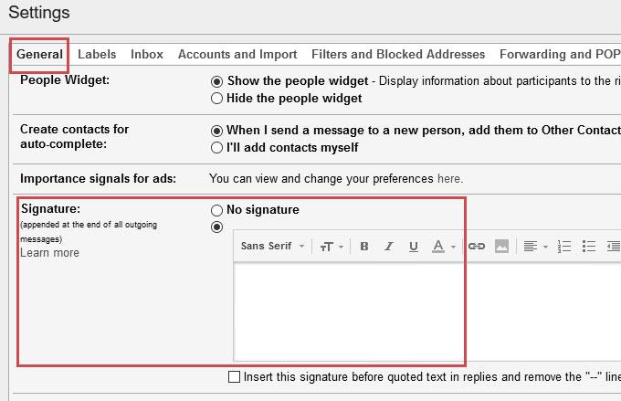 شرح اضافة توقيع للايميل مع صورتك شرح اضافة توقيع للايميل مع صورتك sign12 2