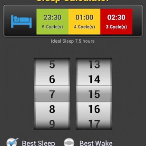 [ برنامج اندرويد ] Sleep Diary Pro برنامج يساعدك في تحليل نومك بالاضافه الى المنبه